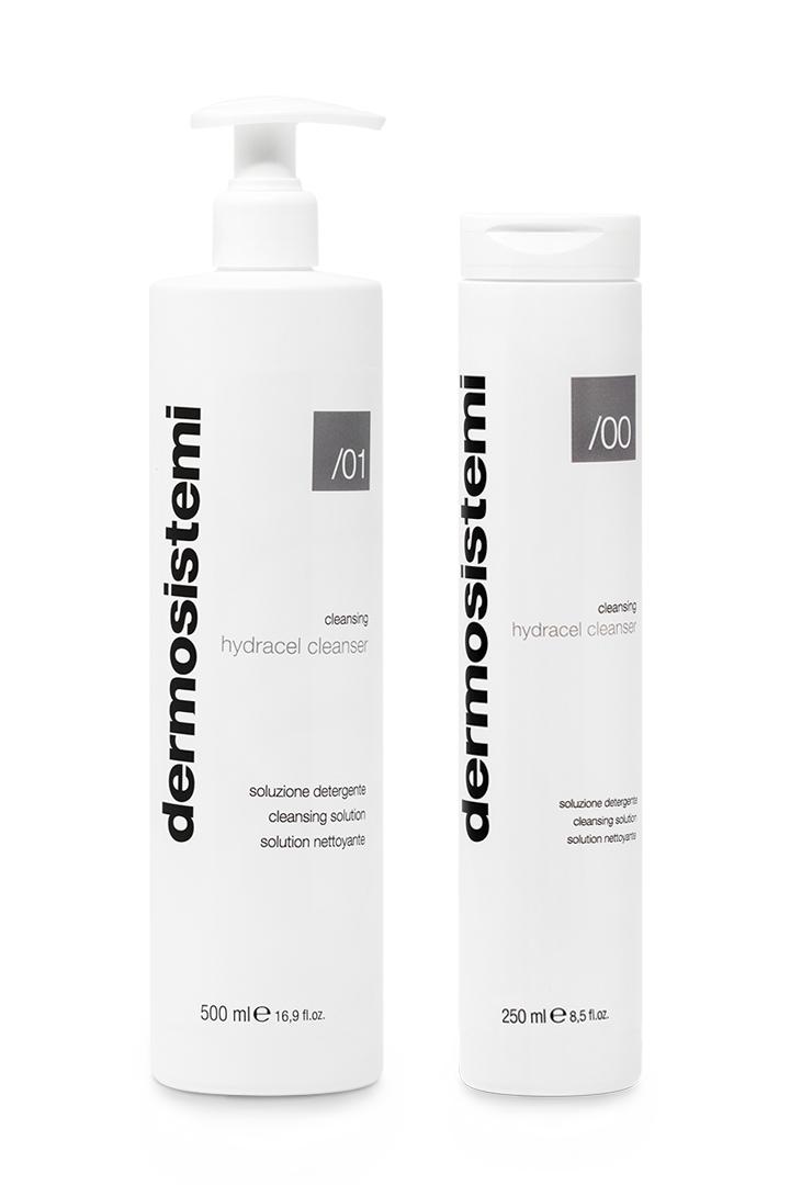 Soluzione detergente viso