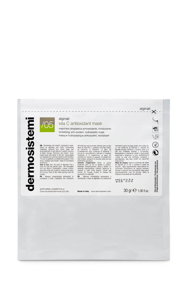 maschera idroplastica antiossidante e rivitalizzante